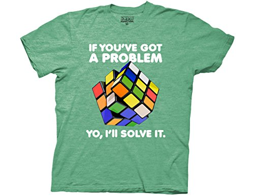 Rubiks Cube Yo I'll Solve It Adult T-Shirt - S to 3XL