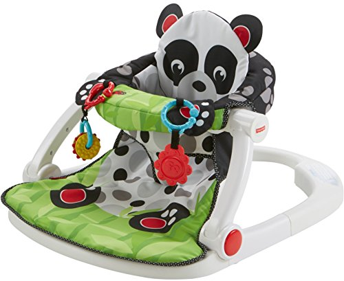 Image of the Fisher-Price Sit-Me-Up Floor Seat Panda Paws