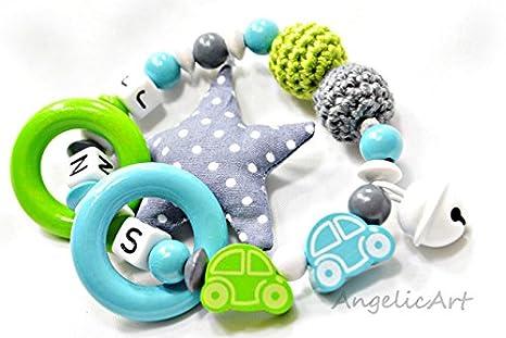 greifling Auto, nombre personalizado, motorig juguete ...