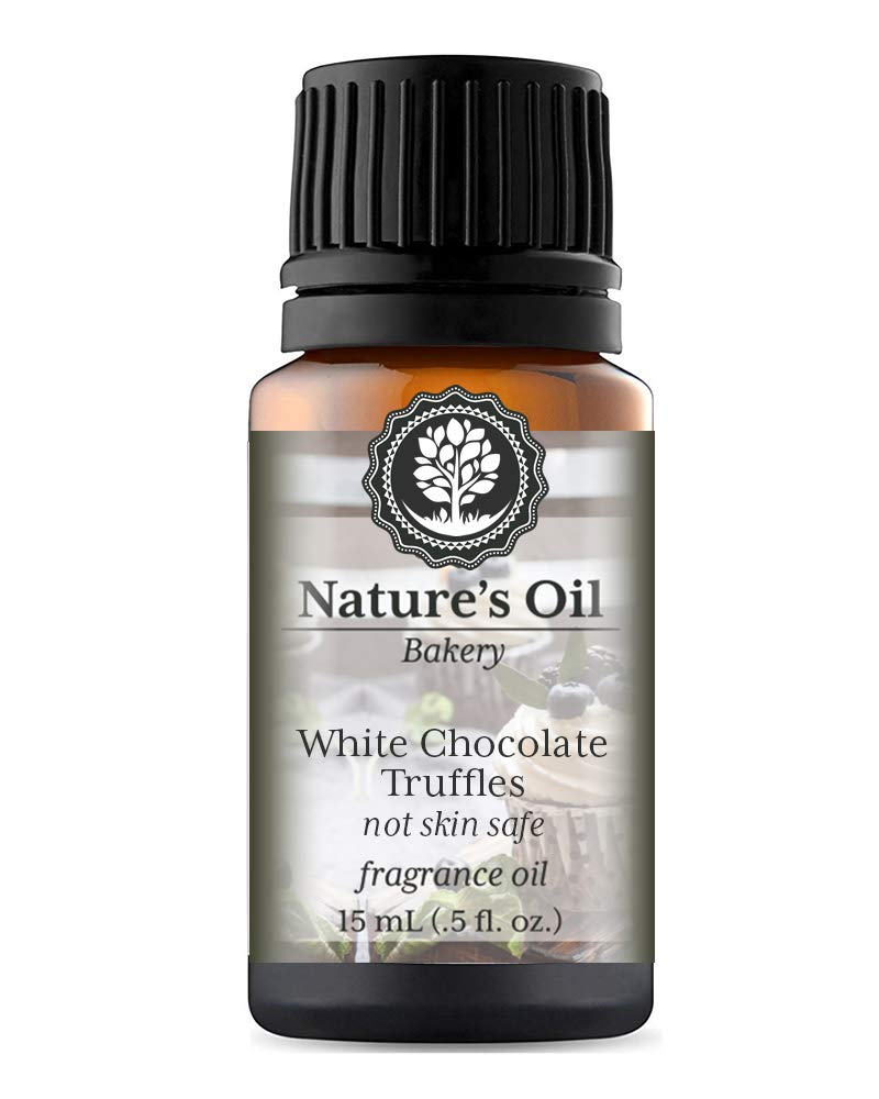 White Chocolate Truffles Fragrance Oil (15ml) For Diffusers, Candles, Home Scents, Linen Spray, Slime