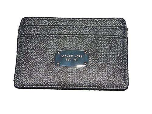 Michael Kors Jet Set Item Card Card Signature PVC - Black