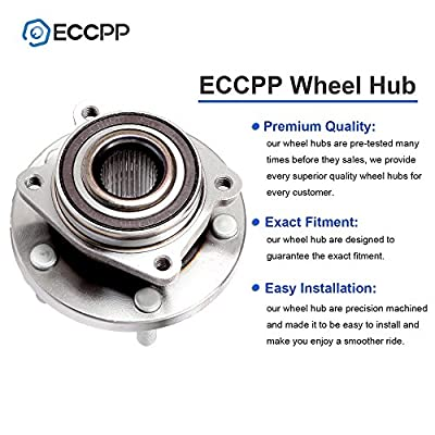 ECCPP 2 Pcak New Complete Front Wheel Hub Bearing Assembly for Dodge Avenger Caliber Chrysler Sebring 2008 2009 2010 2011 2012 2013 2014 5 Lugs w/ABS Left/Right 513263 x2: Automotive