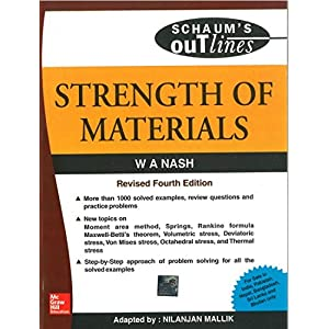 Strength of Materials (Schaum's Outline Series)