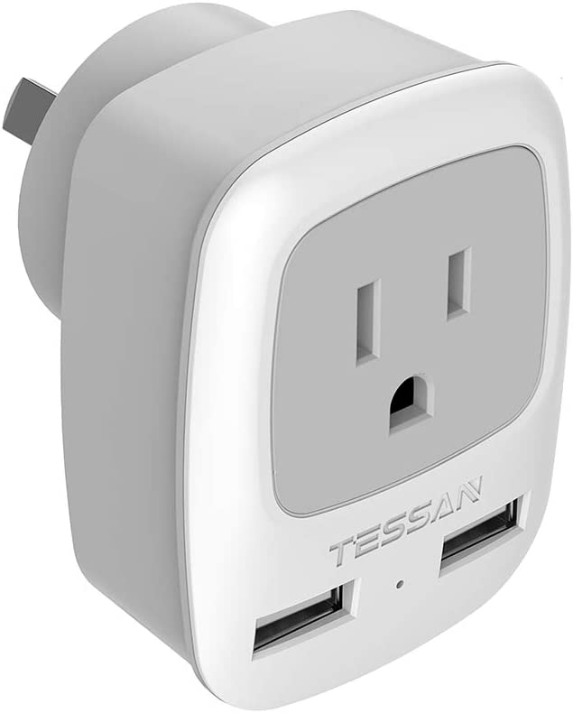 Dual USB Plug Power Socket 10A Wall AC DC Charger Switch Outlet Adapter Port New