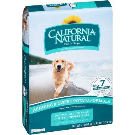 California Natural Herring & Sweet Potato Adult Dry Dog Food, 26 Lb