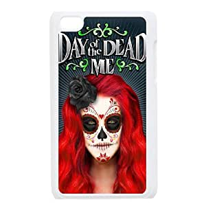 Day of the Dead For Ipod Touch 4 Csae phone Case QYK619809