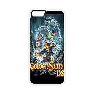 Golden Sun Dark Dawn Game iPhone 6 Plus 5.5 Inch Cell Phone Case White DIY Ornaments xxy002-3644409