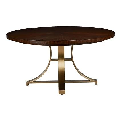 Amazon.com - Ethan Allen Evansview Round Dining Table ...