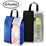 Lermende Shoe Bags Travel Gym Dust-proof Organizer Storage Portable Tote Bag Multi-purpose Nylon Waterproof Pouch with Zipper