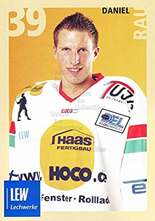Len Augsburg amazon com ci daniel rau hockey card 2004 05 german augsburg