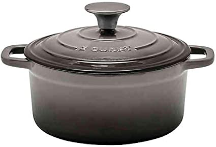 Artisanal Kitchen Supply 6 qt Enameled Cast Iron Dutch Oven in Red