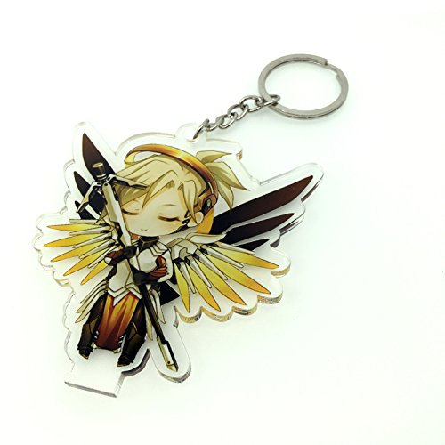 GALIGEIGEI Overwatch Acrylic desk decoration, Figure (Key chain) Photo #7