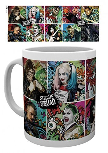 Suicide Squad Photo Coffee Mug - Compilation (4 x 3 inches)