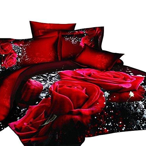 4 Red Rose - 8