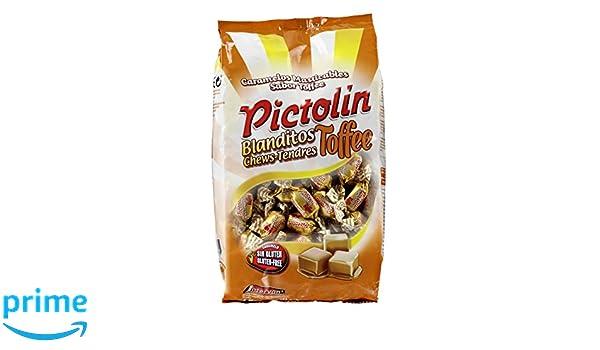 Pictolín Blanditos Tofee - Caramelos masticables sabor toffee - Bolsa de 1kg: Amazon.es: Alimentación y bebidas