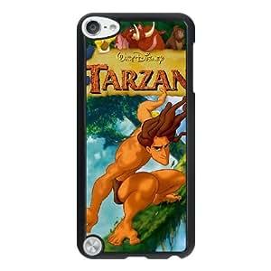 Tarzan Q4F5MV8H Caso funda iPod Touch 5 Caso funda Negro