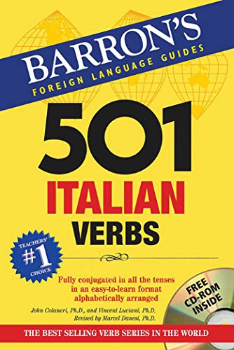 501 Italian Verbs (Barron's Foreign Language Guides) by imusti