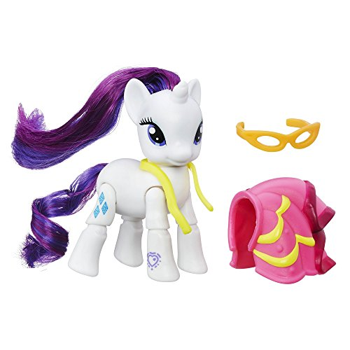 My Little Pony Explore Equestria Rarity Dressmaking Poseable Action (My Little Dress Shop)