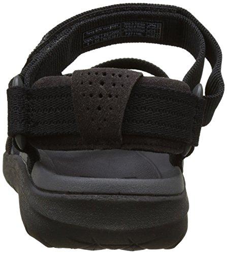 Teva Sanborn Sandal WS, Zapatillas de Atletismo Para Mujer Negro (Black)