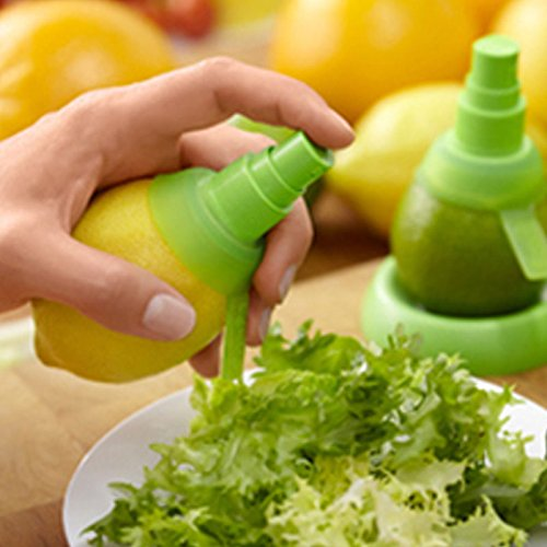 Funnytoday365 3Pcs Set Kitchen Gadgets Lemon Sprayer Fruit Juice Citrus Spray Creative Watermelon Hand Sprayer De Cocina Cozinha Cuisine by FunnyToday365 (Image #4)
