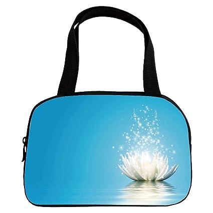 Amazoncom Polychromatic Optional Small Handbag Pink Lotus