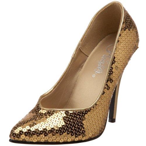 Pleaser High Heels Pumps Absatz 12,7 cm Pailetten 36
