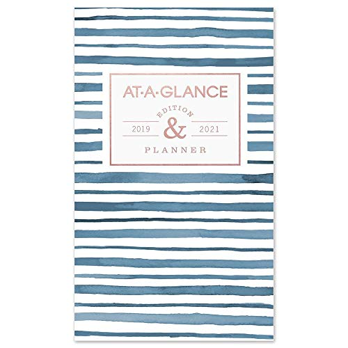 AT-A-GLANCE 2019-2021 Academic Year Monthly Planner, 2 Year, Pocket, 3-1/2