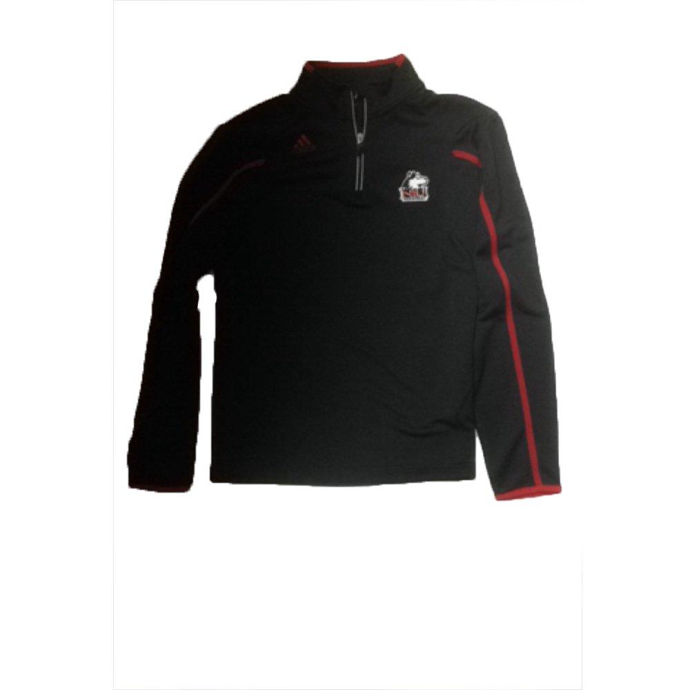 Northern Illinois Huskies Adidas Sideline Climalite Black Quarterzip