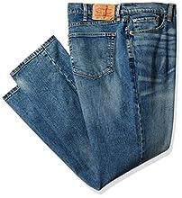Levi's Men's Big and Tall 541 Athletic Fit Jean, Black Stone - Stretch, 44W x 34L
