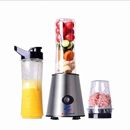 Exprimidor Portátil - Máquina Multifuncional Completamente Automática, Mini Máquina de Picar Carne para Frutas Y
