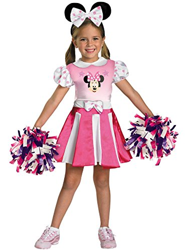 Mickey Mouse Clubhouse - Minnie Mouse Cheerleader Toddler/Child Costume