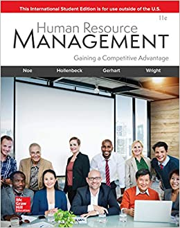 New book human resource management: gaining a competitive.