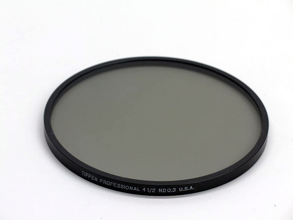 Tiffen 4 1//2 Round ND 0.3 neutral density .3 lens filter 4.5 drop-in