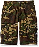DC Big Boys' Ripstop Cargo Short 18.5, Green Surplus Camo, 28/14