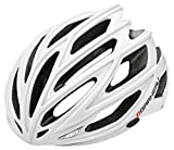 Louis Garneau - HG Women's Sharp Cycling Helmet, White/Silver, Medium/Large