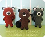 Forrest Friends Crochet Pattern Set