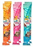 Friskies Pull 'n Play Cat Treats Variety Pack - 3 Flavors (Tuna & Crab, Salmon & Shrimp, and Chicken & Cheese) - 2 Ounces Each (2 of Each Flavor - 6 Total Pouches)