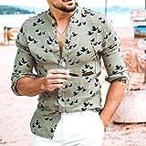 Mens Cotton T Shirt Casual Beach Hippie Yoga Tees