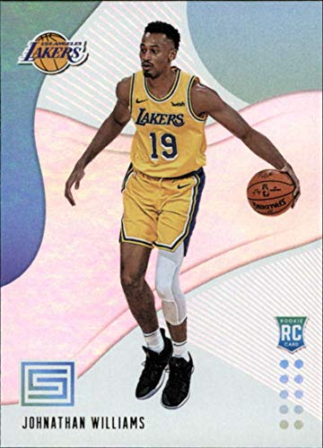 2018-19 Status Basketball #137 Johnathan Williams Los Angeles Lakers Rookies Level 1 Rookie Card Official NBA Trading Card From Panini