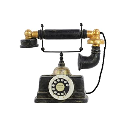 Urban Trends Resin Telephone 1930 Kjobenhavns Telefon Black Amazon