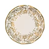 Kitchen & Housewares : Traditional Gold Small Plates (10/Pkg)
