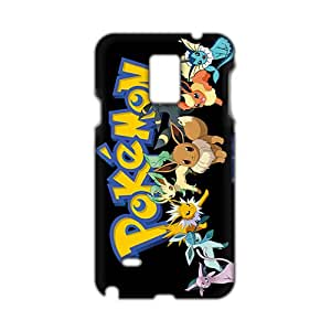 Evil-Store Anime cartoon Pokemon 3D Phone Case for Samsung Galaxy Note4