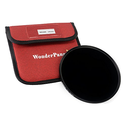Fotodiox 145mm Multi-Coated Neutral Density 1000 10-Stop Filter for WonderPana 145 and 66 Systems by Fotodiox