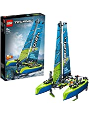 LEGO Technic 42105 Katamaran, do budowy łodzi żaglowej (404 elementy)