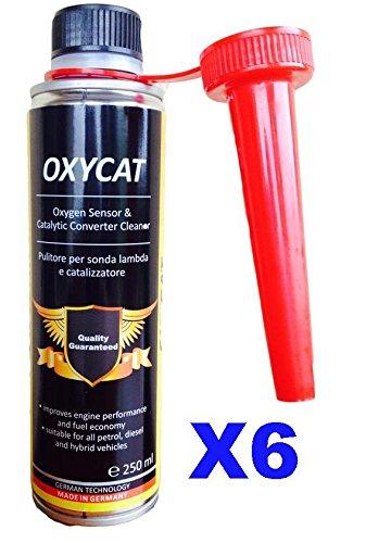 Oxycat - 6 limpiadores para sonda Lambda, catalizador E y válvula EGR. Mejora el combustible. ¡Aumenta el rendimiento del motor!: Amazon.es: Coche y moto