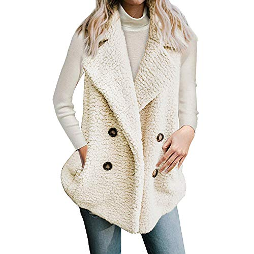 - Clearance! HOSOME Women Vest Overcoat Calsual Jacket Winter Sleeveless Ladies Coat With Pocket tops