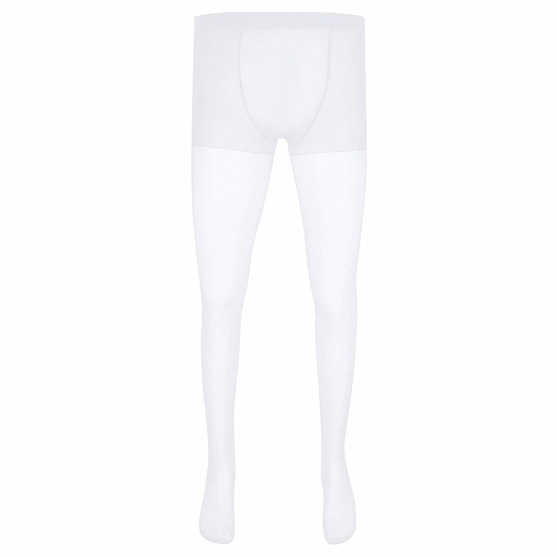 durable service TiaoBug Homme Collant Transparent Bas de contention  Lingerie Moulant Pantalon Legging Soie Collant Compression 95cd6cb6ff2
