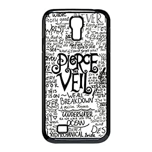 Band pierce the veil Quotes Custom Skidproof Printed case cover for Samsung Galaxy S4 I9500 Black 022701 by Maris's Diary