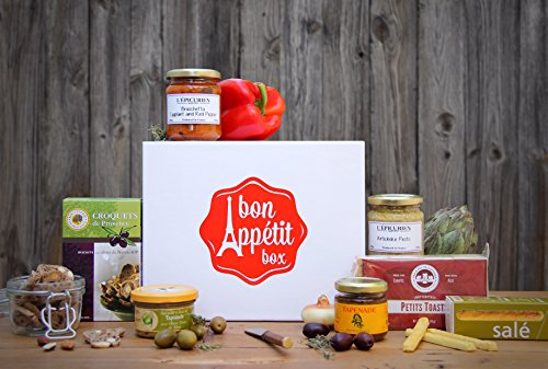 Gift Box Aperitif - Gourmet French Chic Gift Basket - Provence Aperitif Box