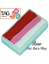 TAG Face Paint 1-Stroke Split Cake - Rose (30g)